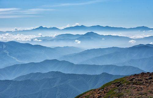 被害妄想の山々